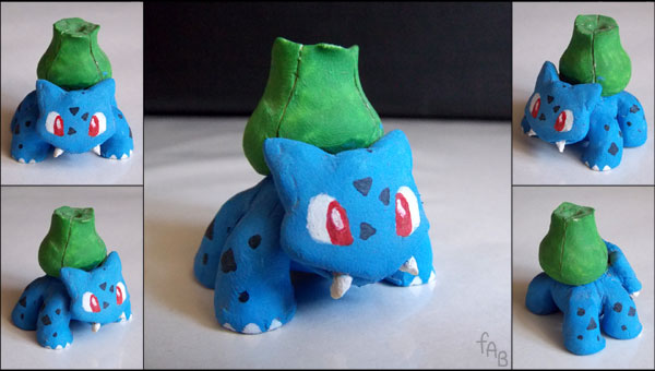 Clay Bulbasaur