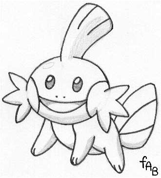 mudkip coloring pages - photo#14